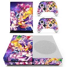 Anime Cute Girl No Game No Life Skin Sticker Decal For Xbox One S Console And Controllers For Xbox One Slim Skin Stickers Vinyl Stickers Aliexpress