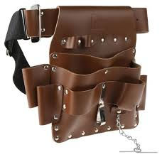 rs pro leather tool belt pouch rs