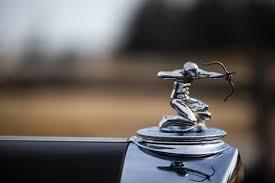 Mascote 1933 Pierce-Arrow Twelve Convertible Coupe Roadster (1242)