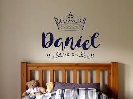 Amazon Com Vinyl Sticker Daniel Name Boy Font Type Kids Room Nursery Mural Decal Wall Art Decor Eh592 Handmade