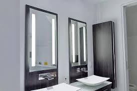bathroom lighting idea for makeup mirror