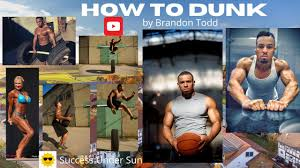 How to Dunk? Brandon Todd is one of the shortest Dunkers in the ...