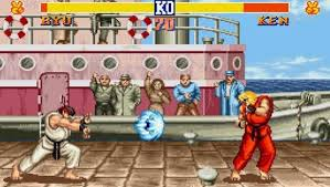 screenshot from street fighter 2 in