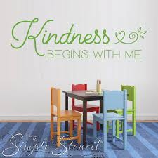 Promote Kindness In Schools Classrooms The Simple Stencil