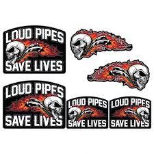 Sticker Car Motorcycle Helmet Vinyl Chopper Biker Loud Pipes Save Lives Archives Statelegals Staradvertiser Com