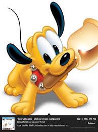 Pluto Bebe Pulseras Y Brazaletes Dibujos Animados De Disney