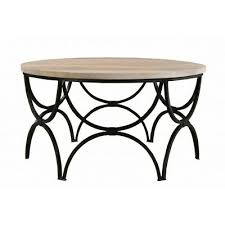 36 w ami coffee table arched iron base