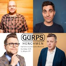 Adam Conover is doing an actual play GURPS RPG this Sunday! :  adamruinseverything