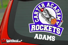 Rockets Decals Myspiritdecal Com