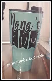 Nana S Cup Custom Decal Mackie Shae