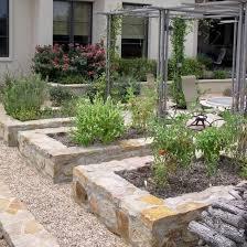 garden design ideas with stone edges