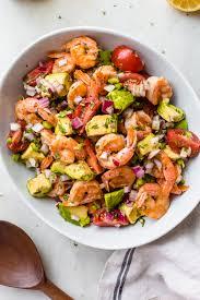 Spicy Mexican Shrimp Salad Recipe ...