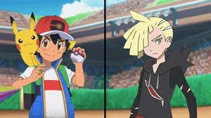 Pokemon Characters Battle: Galar Ash Vs Gladion (Alola League ...
