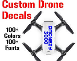 Dji Drone Decals Etsy
