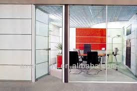 office partition wall living room glass