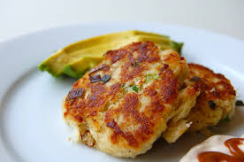 Crab Cakes with Lemon Chipotle ...
