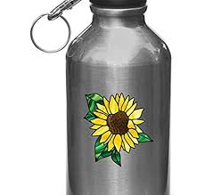 Amazon Com Sunflower D2 Stained Glass Style Vinyl Decal For Waterbottle Thermos Vinyl Decal Vinyl Decal Yadda Yadda Design Co 2 75 W X 2 75 H Sunflower Yellow Small Kitchen Dining