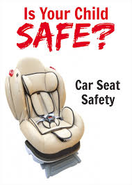 child car seats the law as it stands