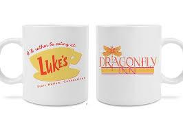 Luke S And Dragonfly Inn Coffee Mugs Perfect Gift Present Mug Cups Tea Cup Ceramic Coffee Mugs Tea Mugs Drinkware Home Decal Ceramic Coffee Mug Coffee Mugtea Mug Aliexpress