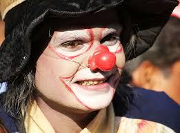 clown makeup circus fun face hat