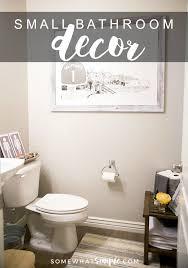 small bathroom decor ideas and tips