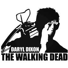 The Walking Dead Daryl Dixon Decal Sticker