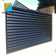 Aluminium Gate Fence Panel Aluminium Louver Fencing View Aluminium Louver Fencing Amshine Product Details From Su Zhou Amshine Building Material Co Ltd On Alibaba Com