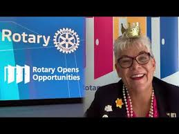 Rotary District Governor Adele Hughes | Message to Clubs | Rotary District  9570 | June 2020 - YouTube