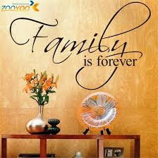 Family Is Forever Home Decor Creative Quote Wall Decal Zooyoo8068 Deco Gifts Leads