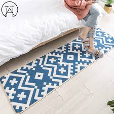 European Style Bedroom Bed Mats Blue Rugs Small Carpet Carpets Area Rug Kids Room Carpet Christmas Decoration Buy At The Price Of 68 88 In Aliexpress Com Imall Com
