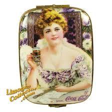 Coca Cola Calendar Cover Limoges Box w/ Hilda Clark (RARE ...