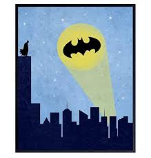 Amazon Com Kids Superhero Wall Art Print Poster Unique 8x10 Home Decor For Boys Kids And Baby Room Nursery Room Decorations And Gift For Superheroes Comic Book Graphic Novels Fans Unframed