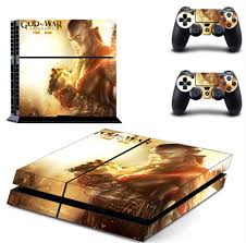 God Of War Ps4 Skin Sticker Decal For Sony Playstation 4 Console And 2 Controllers Ps4 Skin