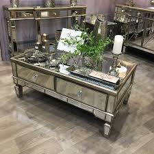 mirrored coffee table in 2020