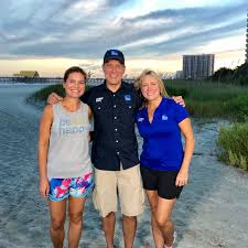 "Jen Carfagno on Twitter: ""Found the @mikebettes and @trishrags crew on  beach #MyrtleBeach. We talked supplies and safety. Ready for #Florence.… """