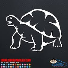 Awesome Tortoise Car Window Decal Sticker Graphic