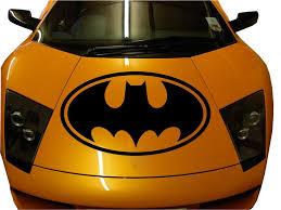Custom Made Car Hood Batman Premium Decal Sticker Vinyl Sport Auto Truck Huge Batman Vinyl Sticker Superhero Logos