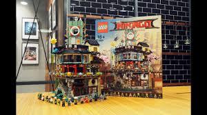 The LEGO Ninjago Movie Ninjago City (70620) Speed Build - YouTube