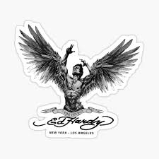 Ed Hardy Stickers Redbubble