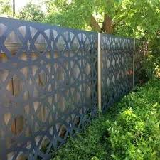 Laser Cut Metal Panels Fence Price