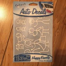 Other Happy Family Car Decals Poshmark