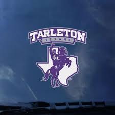 Tarleton State University Texans Decal Tarleton State University