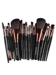 makeup brush set versatile multi colors