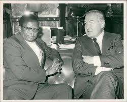 Amazon.com: Vintage photo of Abel Muzorewa with James Callaghan.:  Entertainment Collectibles