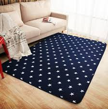 Mdct New Royal Blue White Stars Fleece Rug Carpet Kids Baby Room Soft Crawling Play Mats Living Room Bedroom Deco Area Carpet Area Carpet Rug Carpetfleece Rug Aliexpress
