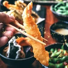Baby Squid & Lobster Tail Tempura ...