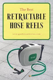 retractable hose reels for your garden