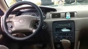 1999 toyota camry le 4 cyl startup