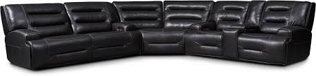 3 piece dual power reclining sectional