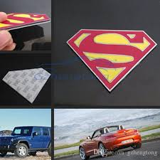 2020 Gzhengtong 2017 Cool Car Sticker 3d Superman Logo Symbol Metal Alloy Emblem Badge Stickers Decal For Auto Motor From Gzhengtong 7 93 Dhgate Com